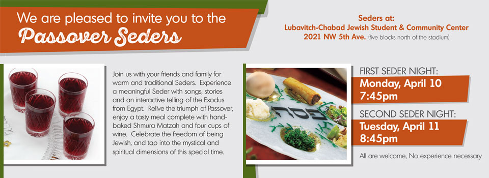 Passover Seder at UF