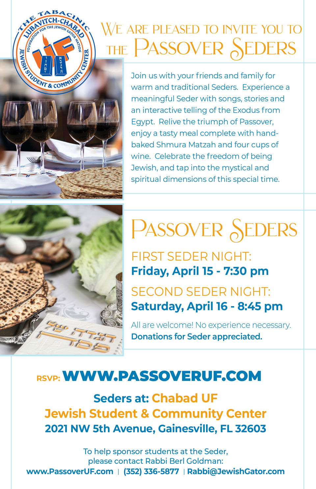 Passover Seder's