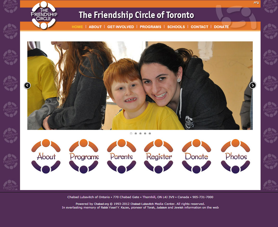 Friendship Circle Toronto